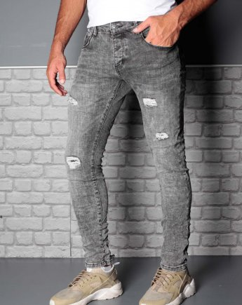 Aνδρικό Παντελόνι Fashion Jeans