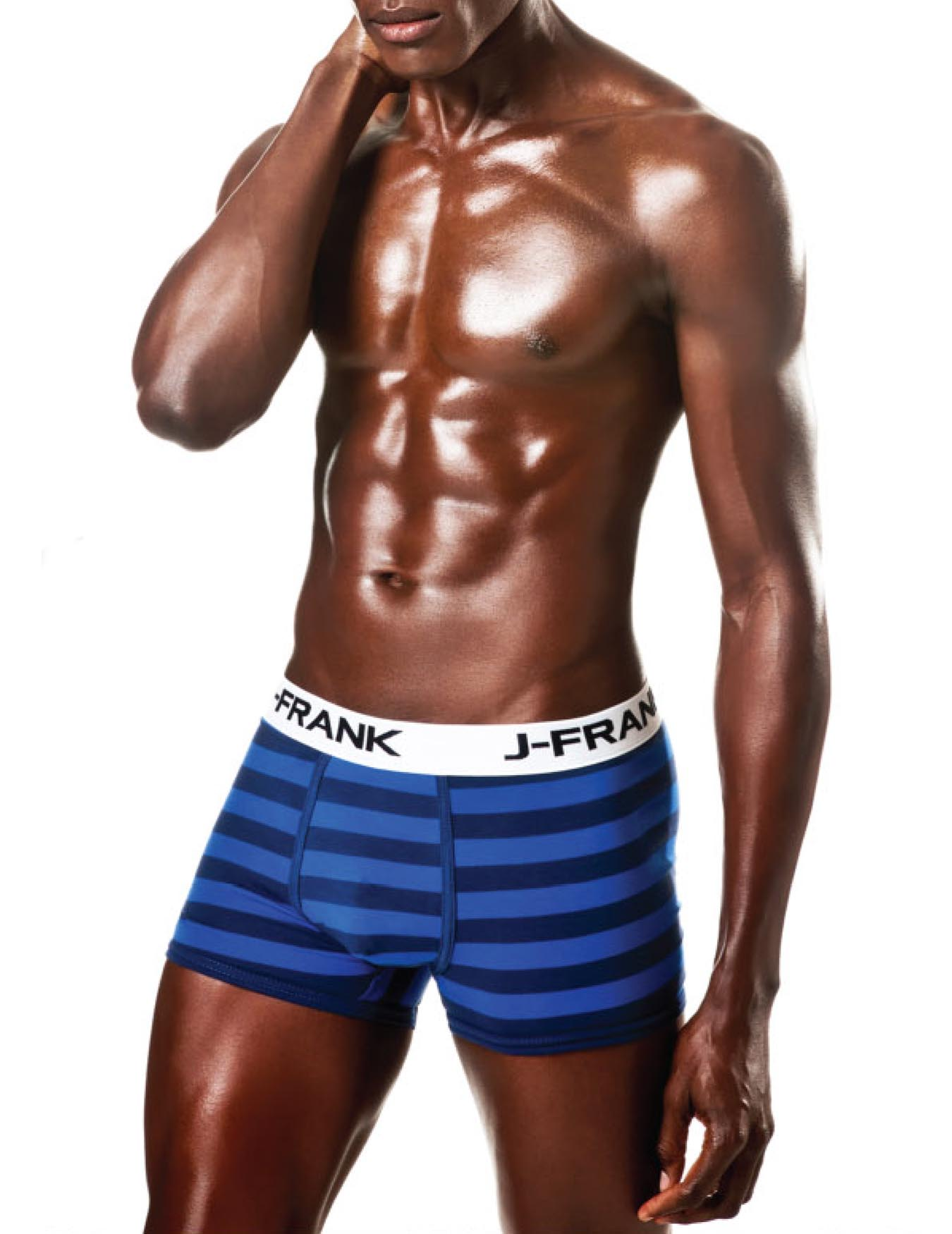 Ανδρικό Boxer Wide Stripes - JOHN FRANK - JFB-74