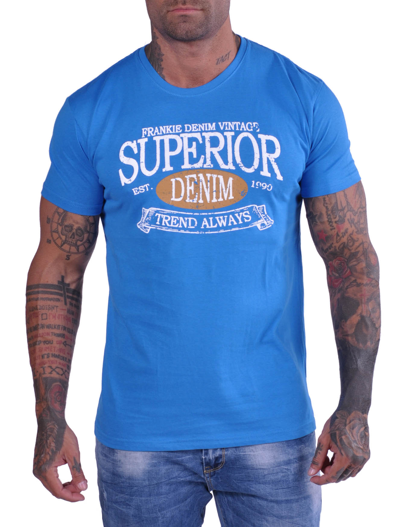 Ανδρικό T-Shirt Superior (ΚΩΔ NS1003) - FRANKIE DENIM - NS1003