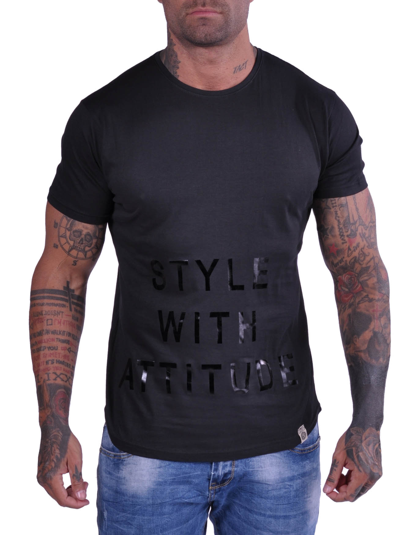Ανδρικό T-Shirt Style With Attitude (ΚΩΔ NS1002) - FRANKIE DENIM - NS1002