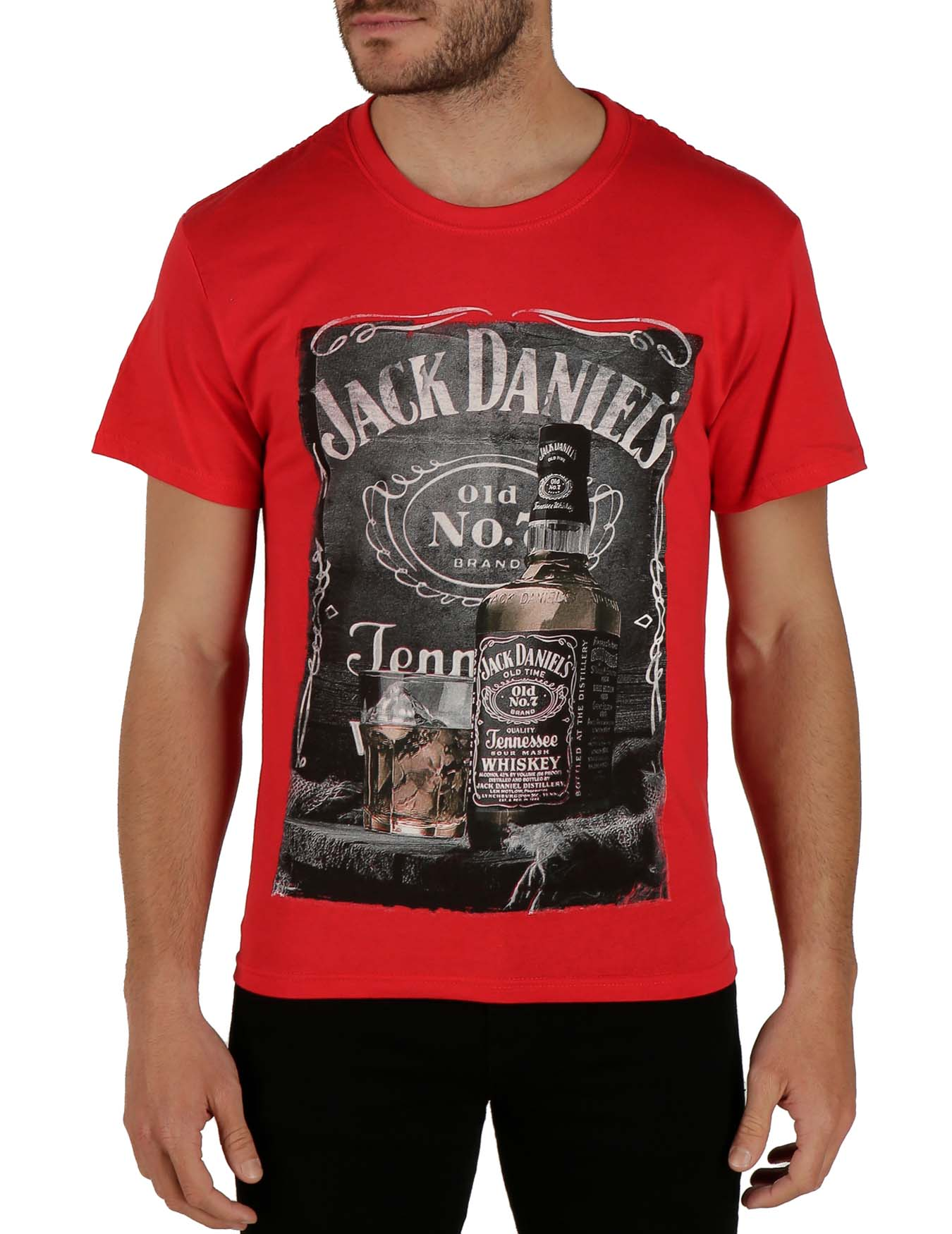 Ανδρικό T-Shirt Jack Daniel's Whiskey (κωδ. 1752249) - KEYA - 1752249