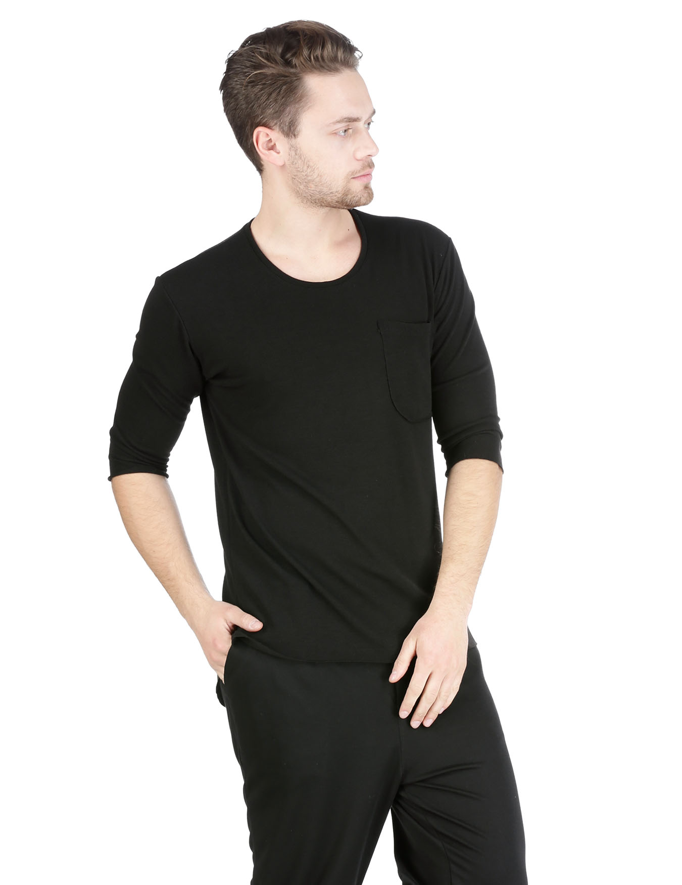 Ανδρικό T-Shirt Left Pocket - TAF - A1812 RIK