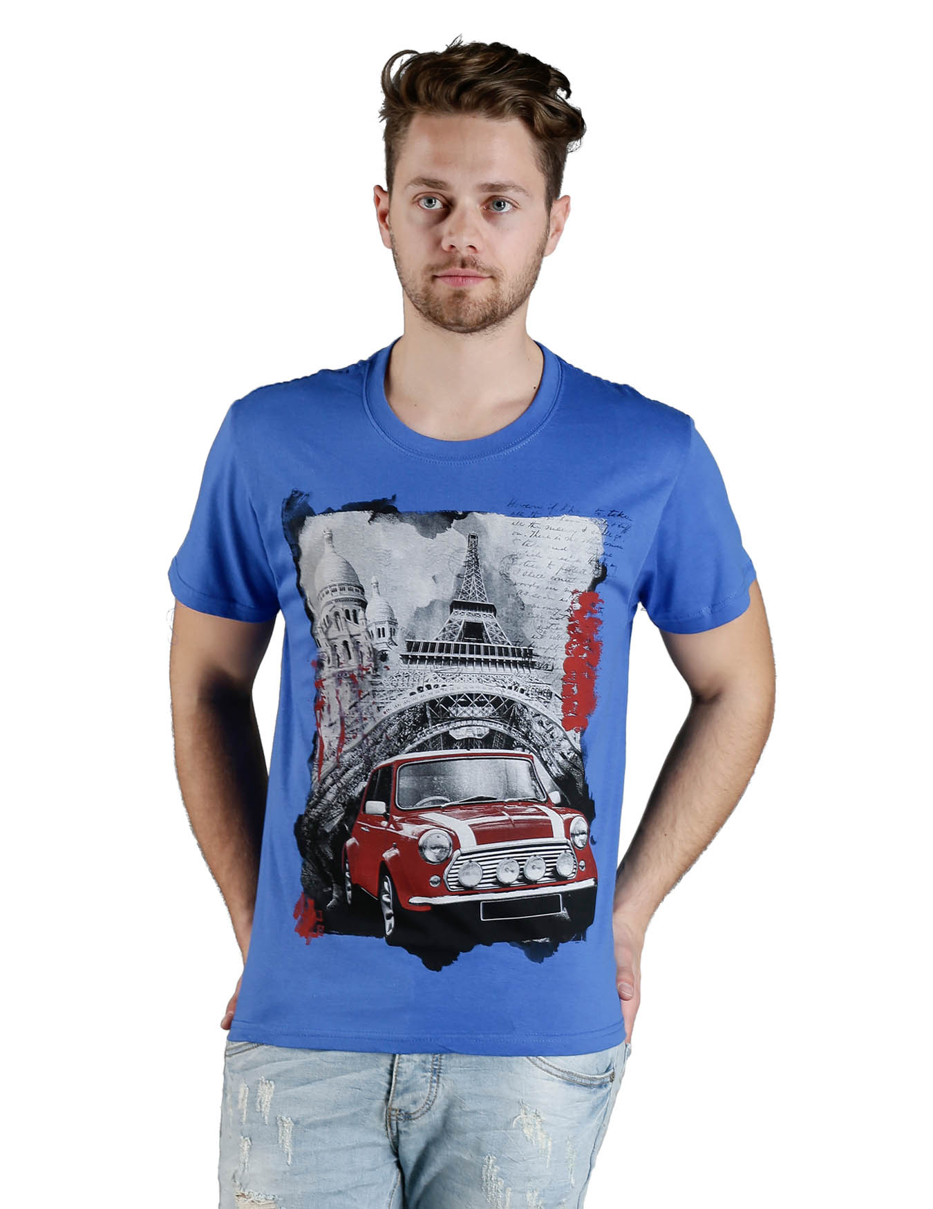 Ανδρικό T-Shirt Mini Cooper - PLAY4TWO - L60018