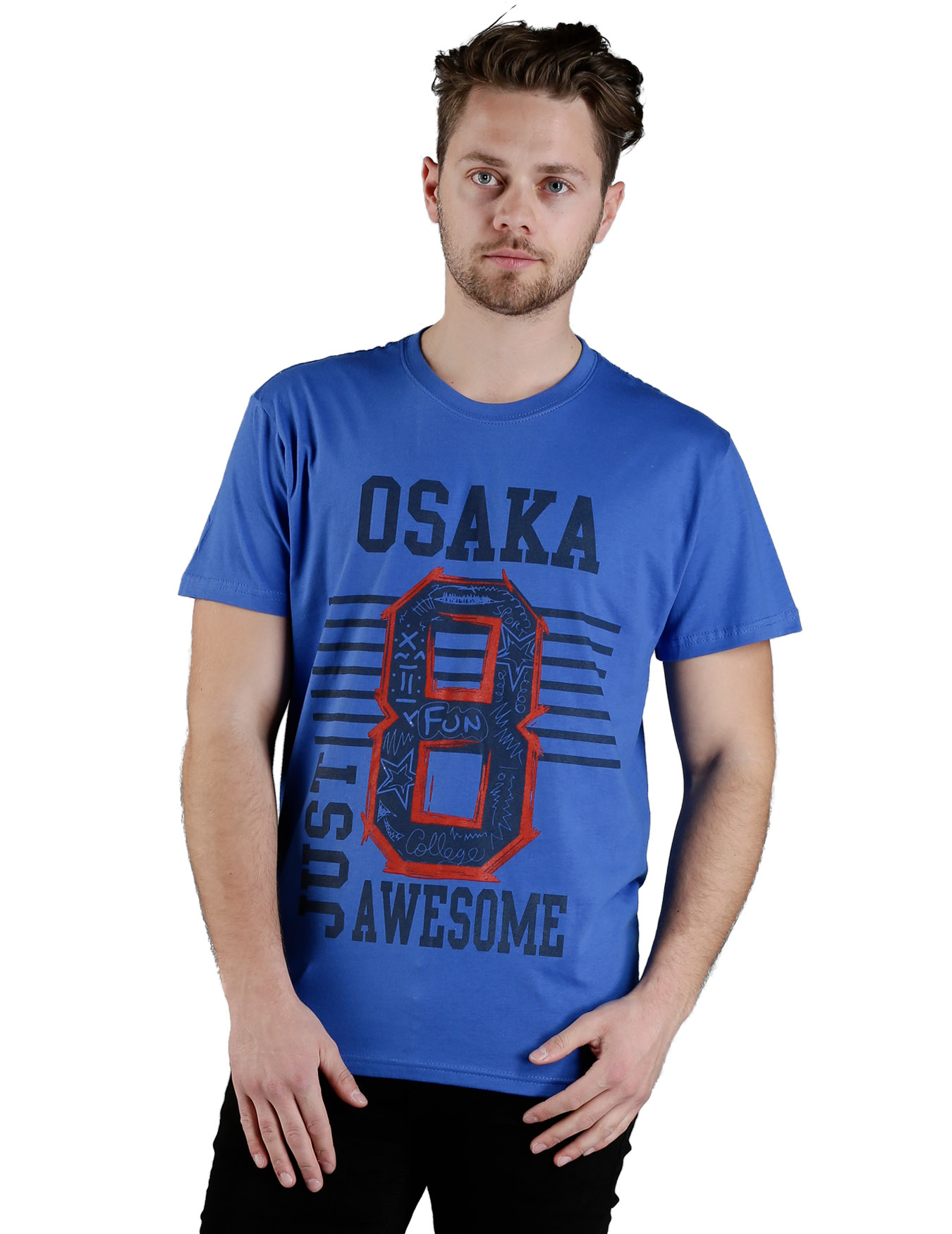 Ανδρικό T-Shirt OSAKA - PLAY4TWO - L6009