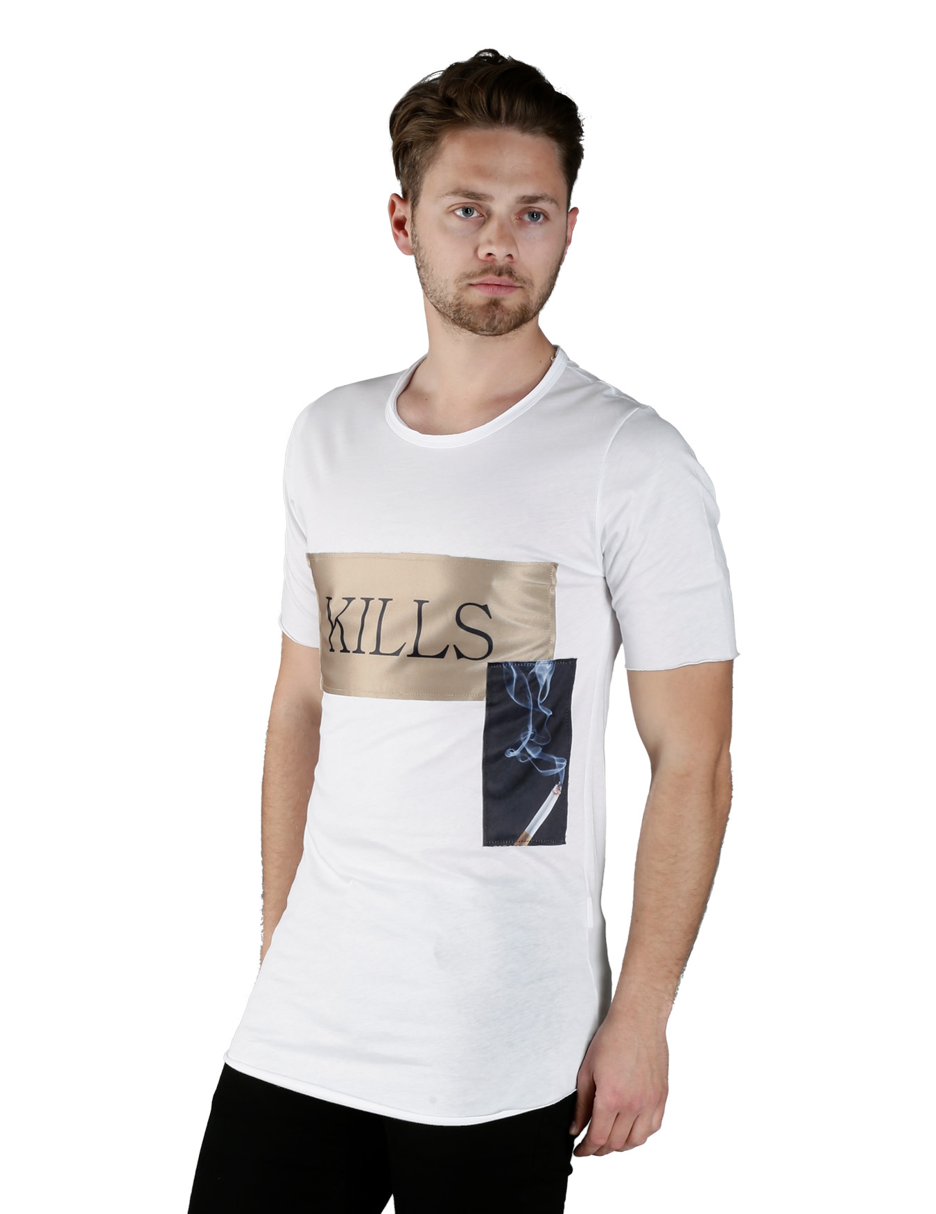Ανδρικό T-Shirt Kills - GRACE-JOHN - SX-190