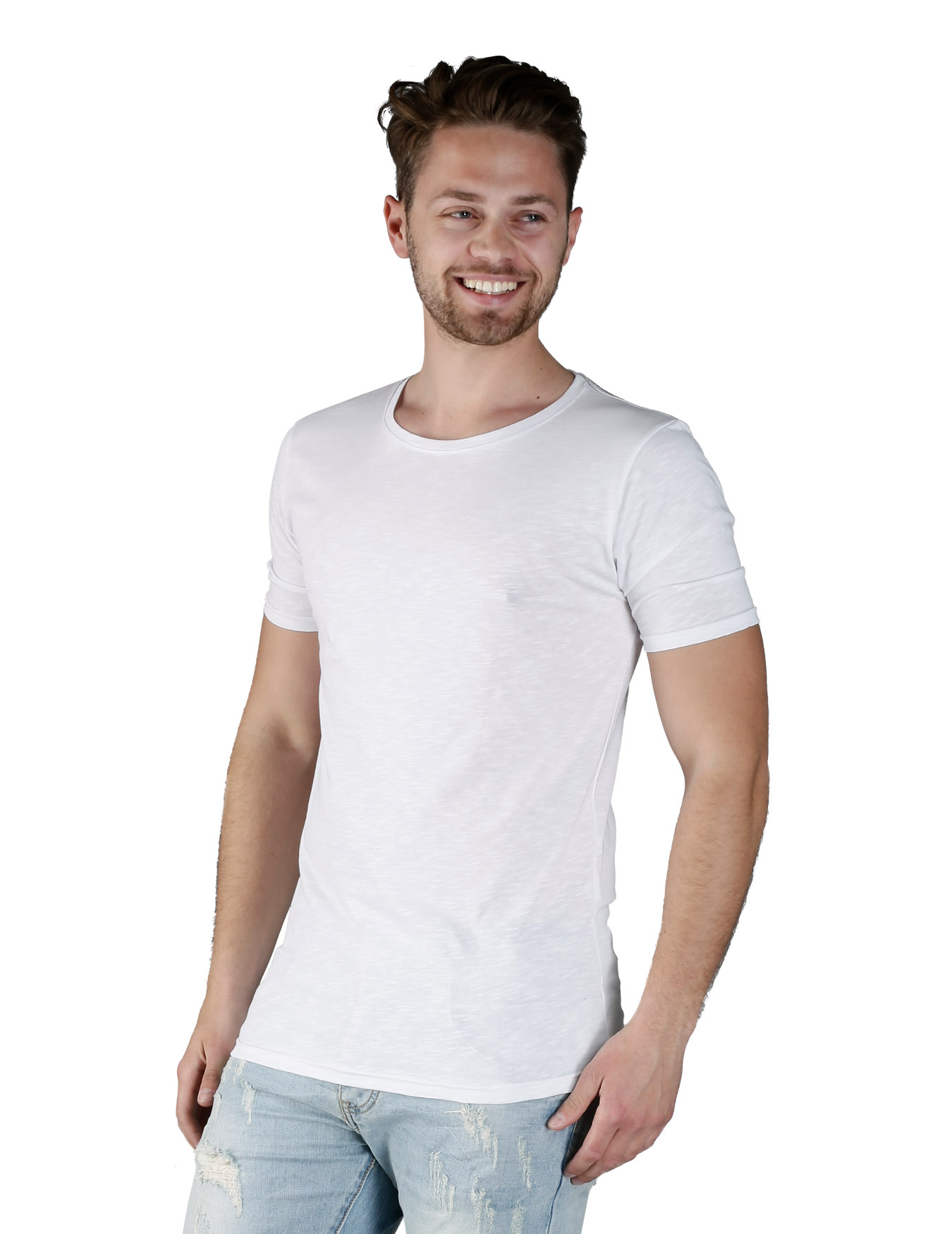 Ανδρικό T-Shirt Simple Way - IRON - IT-410
