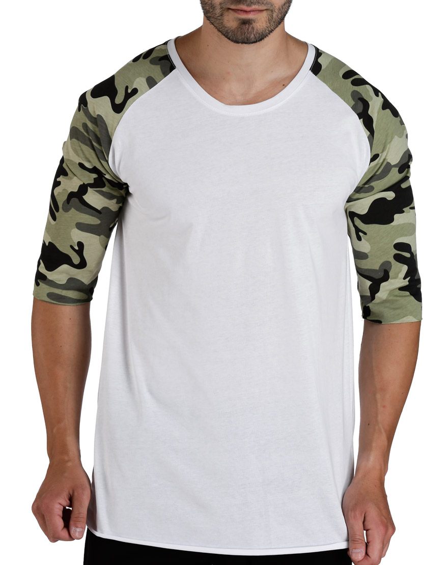 Ανδρικό T-Shirt Army Sleeves - TAF - T-1101