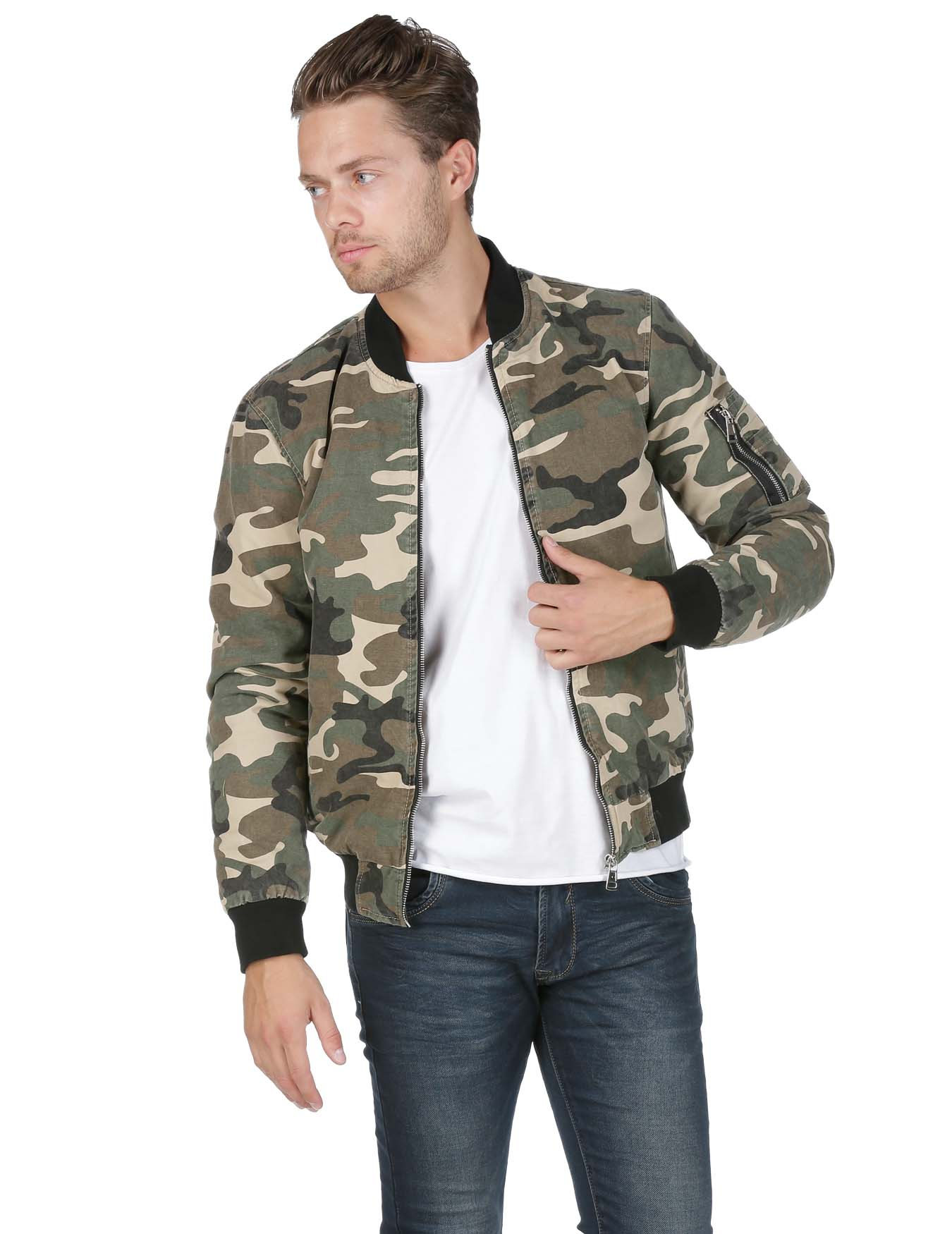 Ανδρικό Jacket Camo Not Denim - VERON - TG-2675-1