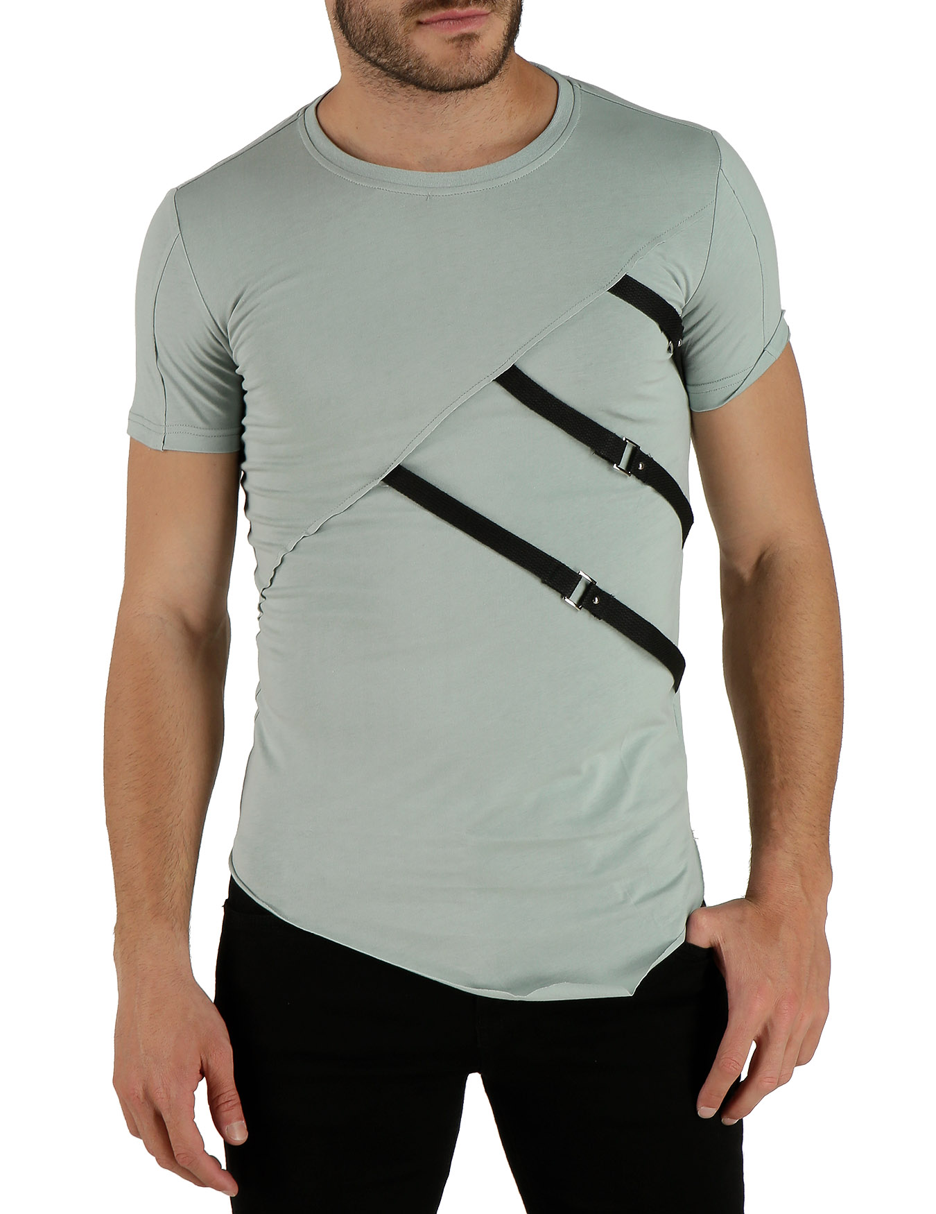 Ανδρικό T-Shirt (κωδ. BMT315) - PLAY4TWO - BMT315