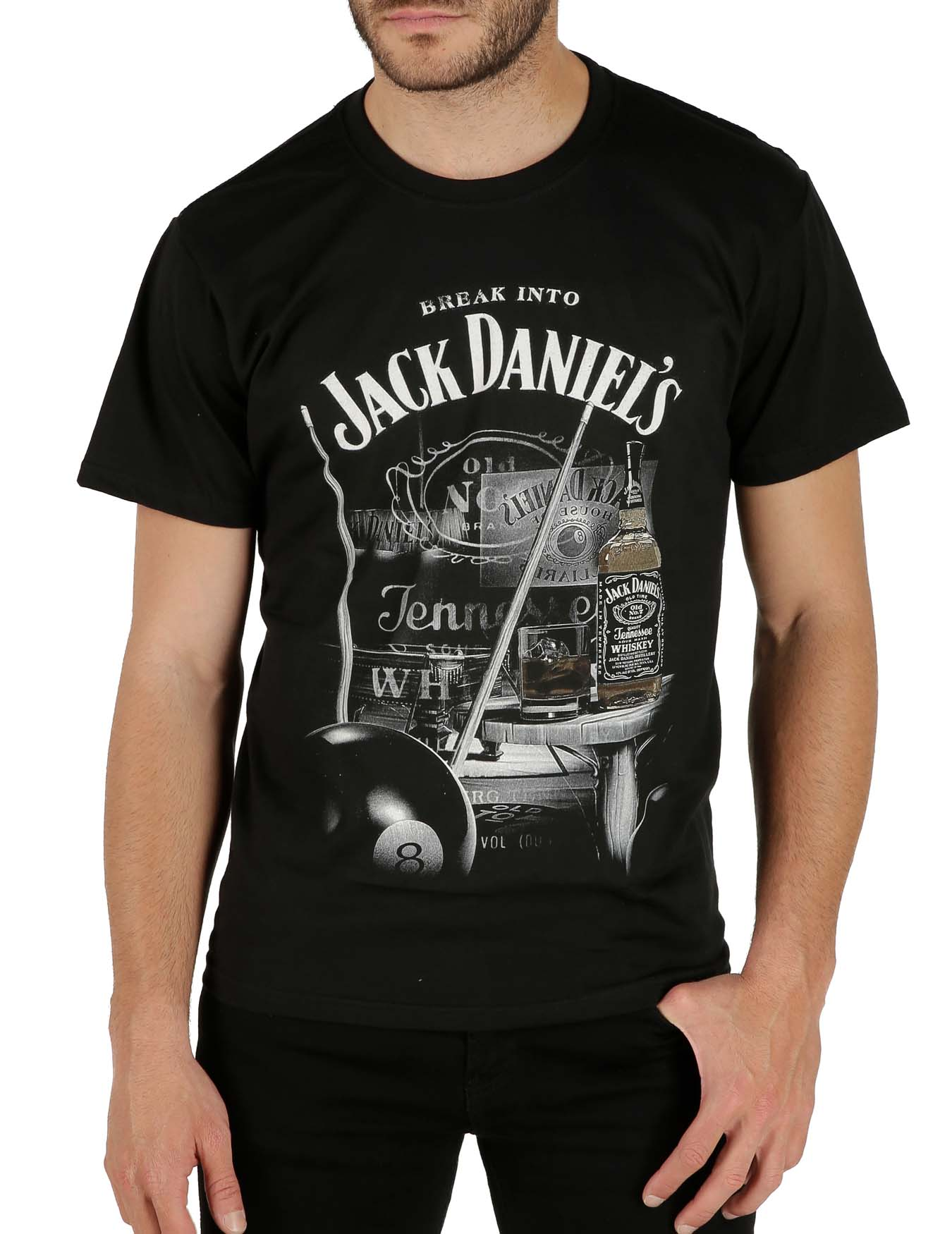 Ανδρικό T-Shirt Break Into Jack Daniel's (κωδ. 1752251) - KEYA - 1752251