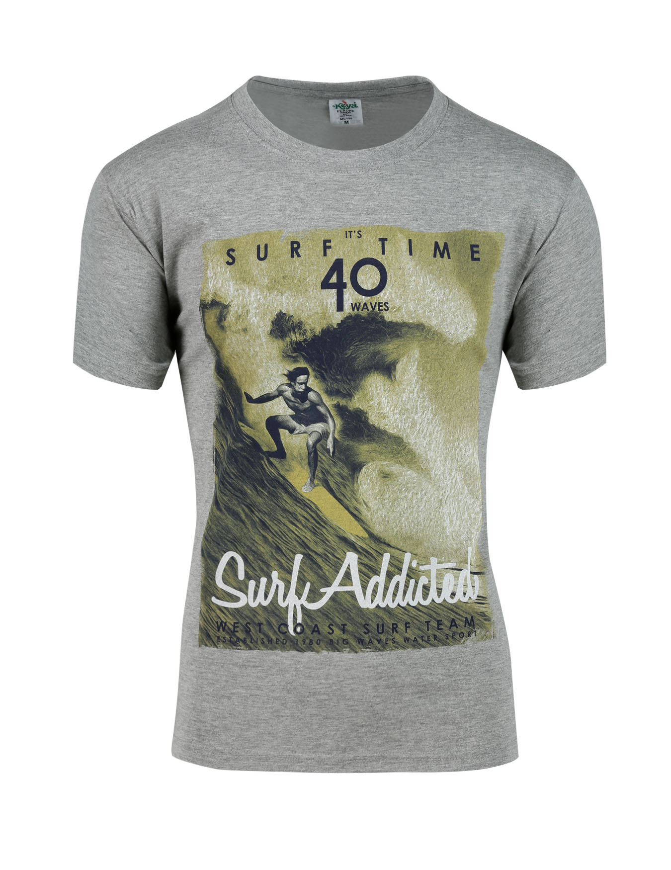 Ανδρικό T-Shirt Surf Time (κωδ. 1652720) - PLAY4TWO - 1652720