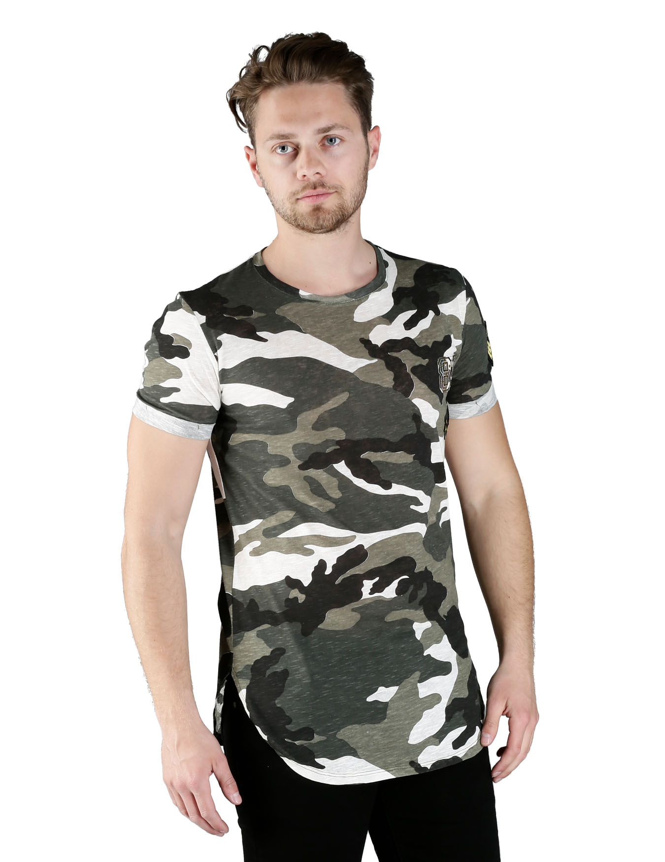 Ανδρικό T-Shirt In The Army - GRACE-JOHN - T-1677-2482