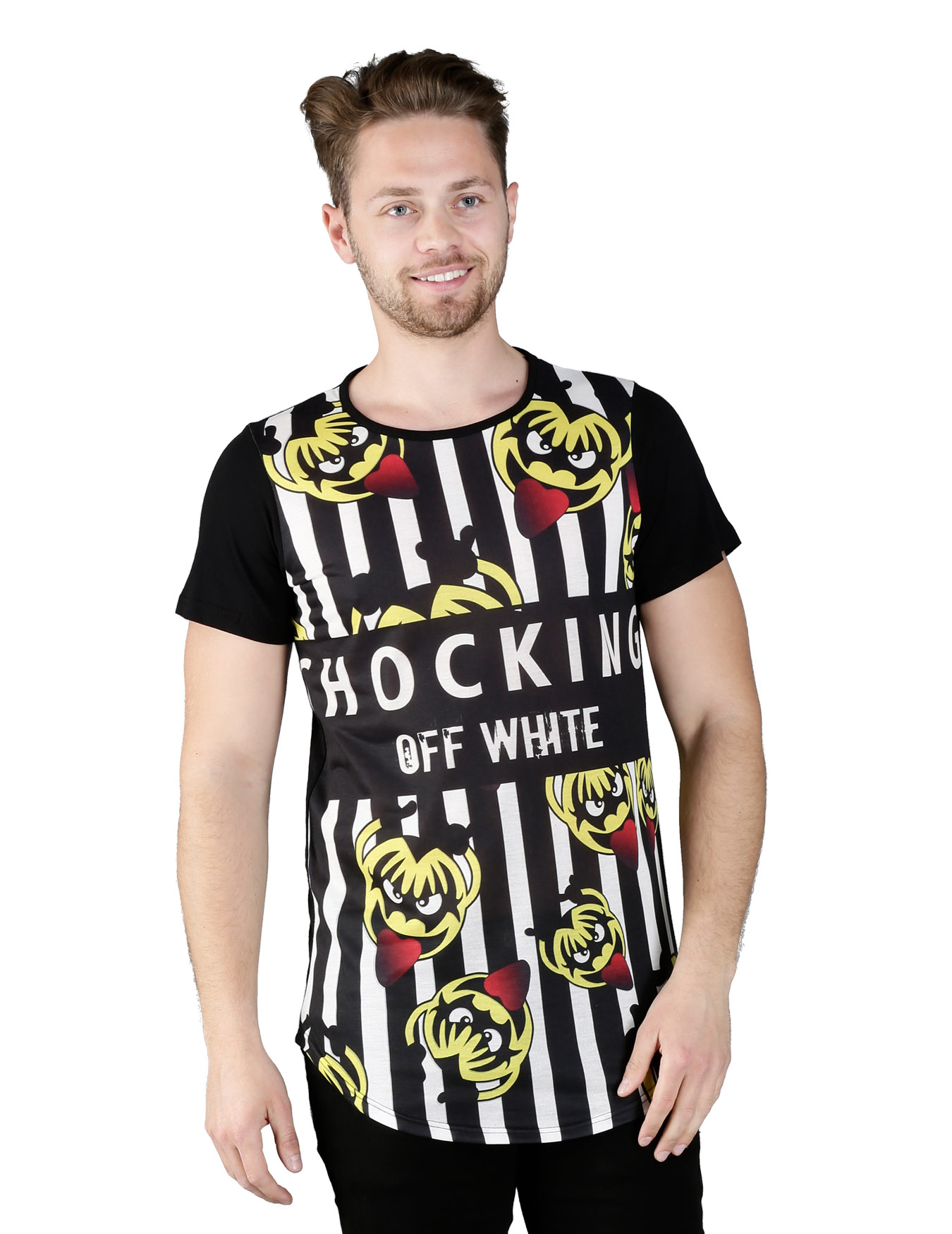 Ανδρικό T-Shirt Yellow Demons - OFF-WHITE - OFF-97